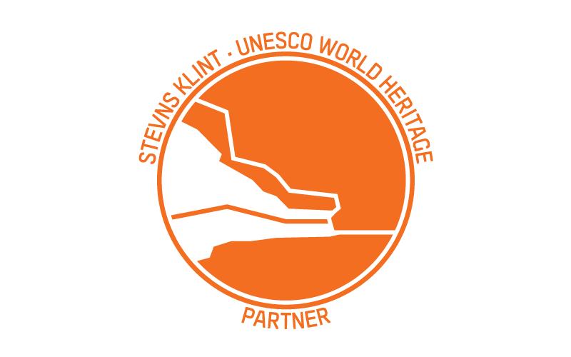 Stevns Klint Unesco World Heritage Partner logo
